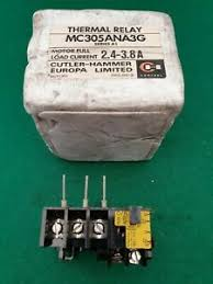 Details About Cutler Hammer Mc305ana3g Thermal Overload Relay 2 4 3 8 Amp