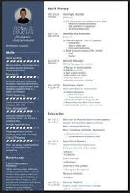 Another Example Of A Creative Resume Resumes For Creative Fields