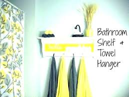 yellow gray bathroom and grey wall art accessories