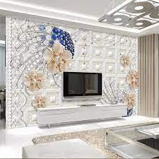 beibehang Custom wallpaper 3D diamond ...