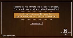 Children Role Model Quotes New Model Quotes