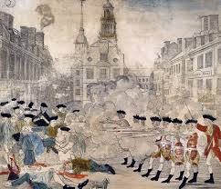 how paul revere s ride was published and censored in  engraving depicting the boston massacre printed and by paul revere in 1770 source