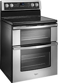 enchanting freestanding oven electric convection range silverwgecfs whirl freestanding oven in double oven electric range