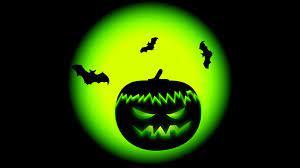 Halloween Pumpkin Green Wallpaper ...