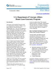 Va Disability Chart 2017 U S Department Of Veterans Affairs Home Loan Guaranty