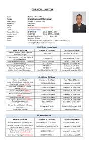 Certified Crane Operator Sample Resume Cv Sultan Salahuddin Crane Operator Offshore Stage 24 5