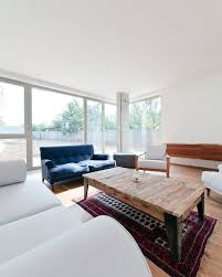 blue and white furniture. Furniture. Marvelous Design Ideas Using White Wall And Rectangular Brown Wooden Tables Also With Blue Furniture