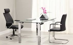 interesting glass home office desk awesome home remodeling ideas adorable adorable glass top office