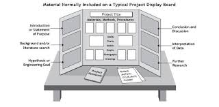 Template For Science Fair Project Science Fair Project Display Boards Info