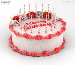 Birthday Cake 3d Model Food On Hum3d