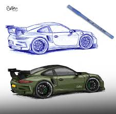 If you follow along, you will learn how to draw from scratch in sketch the legendary porsche 911 for this step, we need an image of a porsch e 911 that will serve as a reference to outline the car in. Porsche Cars Outlines Draw Page 1 Line 17qq Com