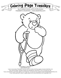 Small Picture dulemba Coloring Page Tuesday Bad Foot Bear