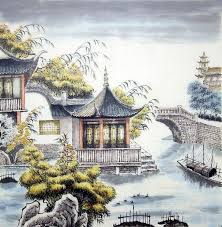 building chinese painting