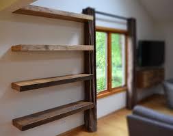 Full Size of Shelves:amazing Floating Walnut Shelves Natural Effect Shelf L  Bq Prd Departments ...