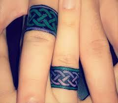 Opravdu Navždy Tetované Snubní Prsteny