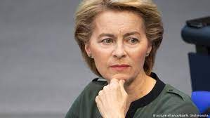 Her father ernst albrecht worked as one of the first european civil servants from the establishment of the european commission in 1958, first as chef de cabinet to the european commissioner for competition. Eu Leaders Pick Germany S Ursula Von Der Leyen To Lead European Commission News Dw 03 07 2019