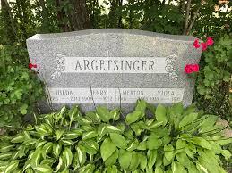 Henry Argetsinger, Jr (1906-1982) - Find A Grave Memorial