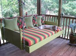 Porch Swing Bed Furniture Outdoor Furniture Cushions Clearance Porch Swing