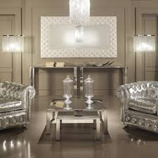 italian white furniture. modern italian white leather upholstered mirror furniture
