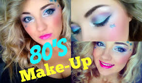 80 s makeup tutorial