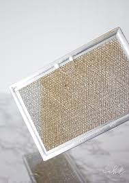 Cleaning Range Hood How To Clean A Greasy Range Hood Filter Without Scrubbing Range