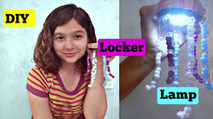 locker lamp diy