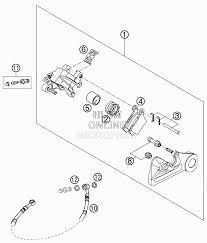 Rear brake control