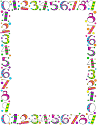 flyers numbers printable number border use the border in microsoft word or other