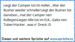 Liegt Der Camper Tot Im Keller War Der Rusher Wieder Schnellerliegt