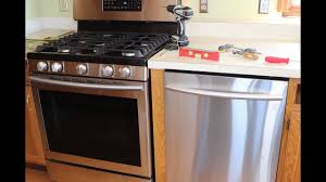 samsung dishwasher installation. Fine Samsung Kitchen Update Part 6 Samsung Dishwasher Install It Doesnu0027t Match The Stove For Installation S