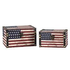 Decorative Storage Box Sets Amazon Household Essentials Decorative Storage Box American 86