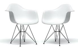 modern plastic chair studio white plastic chair with chrome base set of 2 modern plastic furniture india