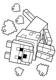 Small Picture Skeleton And Arrow From Minecraft Game Coloring Page Minecraft