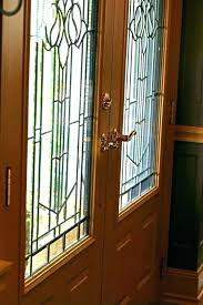 stained glass interior french doors front reclaimed door ts leaded full size of ideas inserts grid