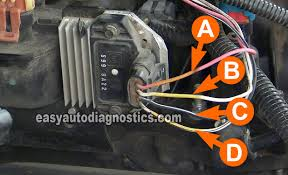 part 2 how to test the gm ignition control module (1995 2005) GM Ignition Switch Wiring Diagram at Gm Ignition Module Wiring Diagram Free Picture