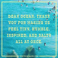 Ocean Quotes Gorgeous 48 Best Breezy Beach Quotes Quote Catalog