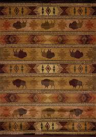 united weavers genesis tatonka lodge rug lodge 130 52243 5