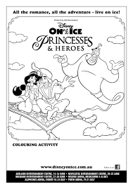 activity sheet 2 disney on ice review on disney on ice coloring pages