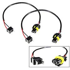 amazon com h7 wire harness for hid ballast to stock socket for hid Metal Halide Ballast Wiring Diagram at Hid Ballast To Stock Wiring Harness