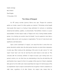 definition essay respect self esteem physics mathematics