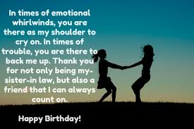 Quotes For Sister Birthday Adorable Top 48 Birthday Quotes For Sister In Law With Images