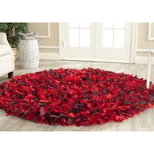 living room floors rugs red and grey furry circle for contemporary then living room charming