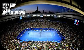 australian open roof world demo tour 2018 demo kids junior scouting doubles