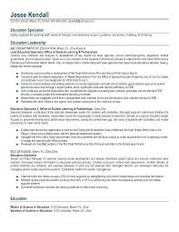Teaching Resumes Examples Special Education Teacher Resume Samples