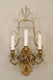 crystal wall decor lights chandelier sconces swarovski bronze antique french modern candle hobby lobby full size