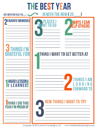 best new year goals ideas new years resolution goal setting worksheets for kids adults