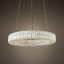 crystal halo chandelier restoration hardware crystal halo chandelier