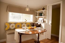 Breakfast Nook For Small Kitchen Cheap Kitchen Nook Table Set Round Pedestal And High Back