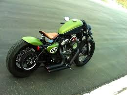 clean harley davidson cafe racer bobber click to see the actual
