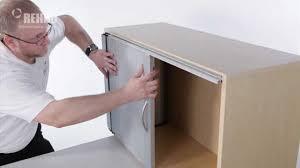 sliding glass door track for cabinets